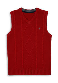 IZOD Solid Sweater Vest Boys 4-7