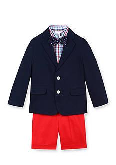 IZOD 4-Piece Woven Pique Jacket Set Boys 4-7