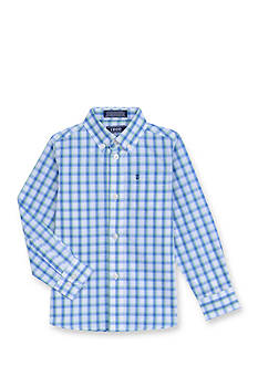 IZOD Plaid Woven Button-Front Shirt Boys 4-7