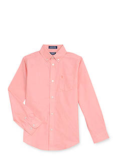 IZOD Woven Button-Front Shirt Boys 4-7