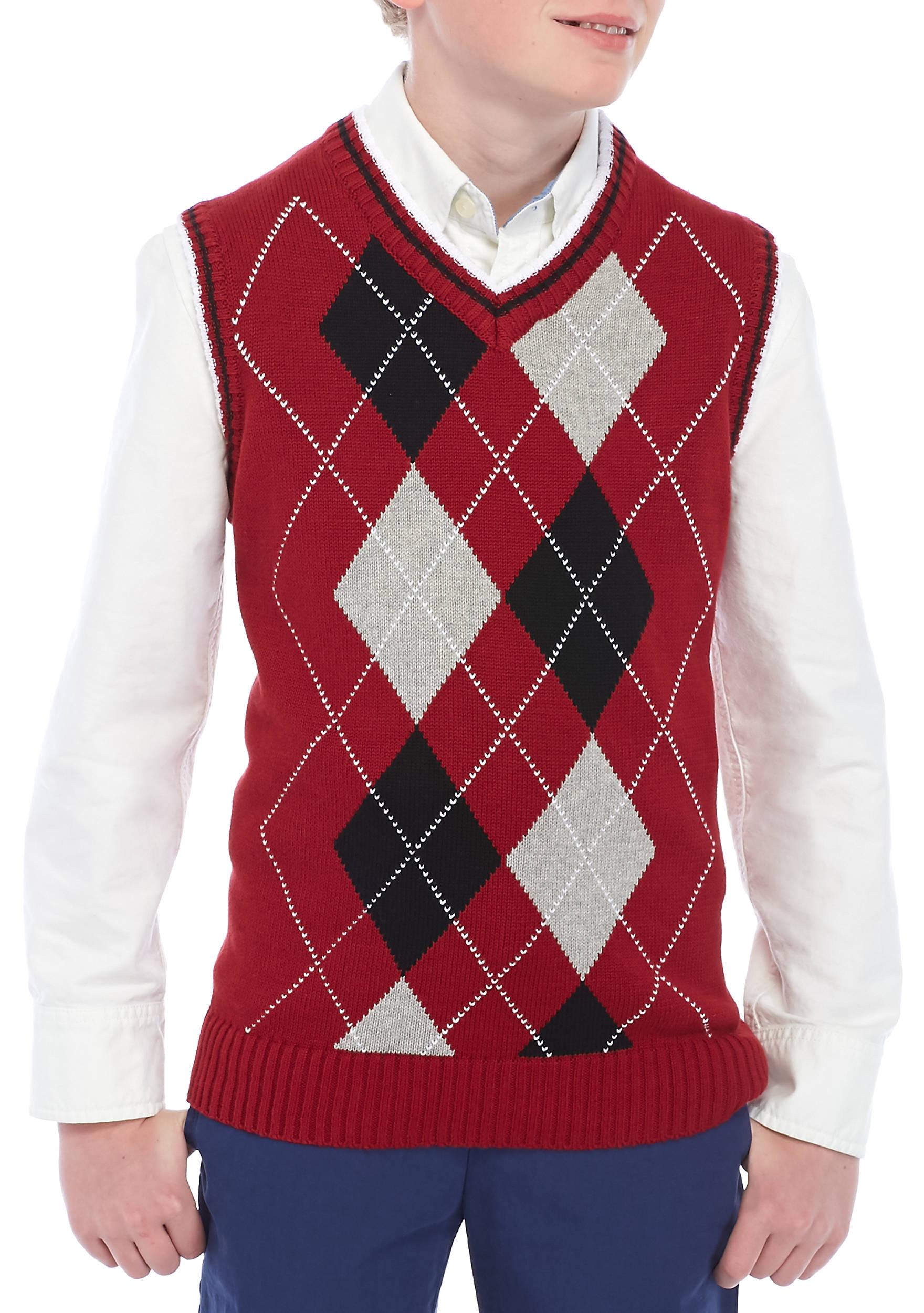 IZOD Argyle Sweater Vest Boys 8-20 | belk