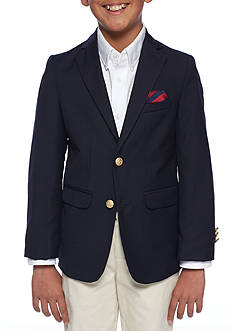 IZOD 2 Button Basic Blazer Boys 8-20