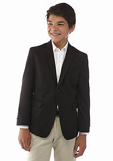 IZOD Basic Suit Blazer Husky Boys 8-20