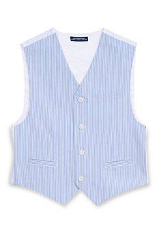 IZOD Seersucker Vest Boys 8-20