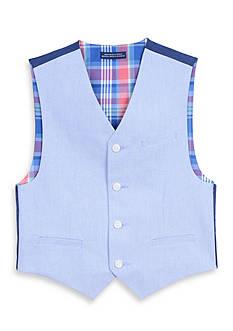 IZOD Chambray Vest Boys 8-20