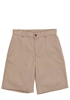 IZOD Uniform Twill Shorts Husky Boys 8-20