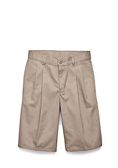 IZOD Uniform Husky Pleated Shorts Boys 8-20