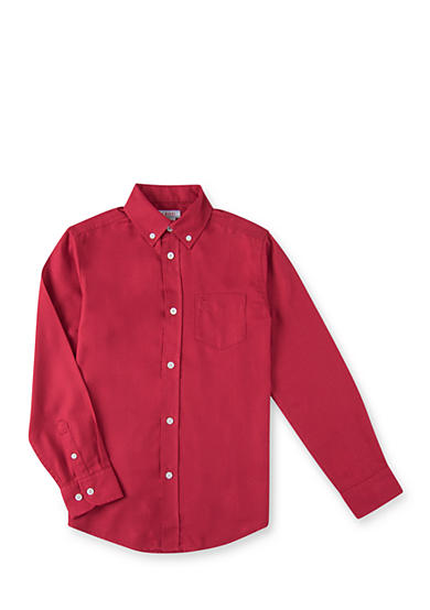 Izod Solid Woven Shirt Boys 8 20 Belk