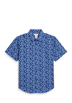 IZOD Print Button-Front Shirt Boys 8-20