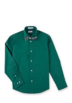 IZOD Bow Tie Woven Shirt Boys 4-20
