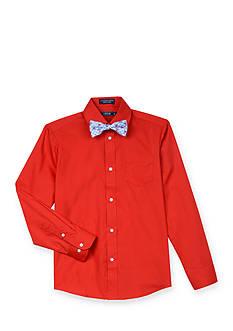 IZOD 2-Piece Woven Bowtie & Shirt Set Boys 8-20