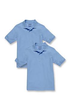 IZOD 2-Pack Bundle Uniform Short Sleeve Polo Boys 8-20