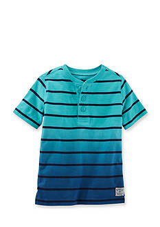 OshKosh B'gosh® Stripe Henley Tee Boys 4-7