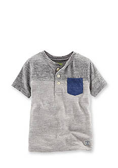 OshKosh B'gosh® Color Block Henley Shirt Boys 4-7
