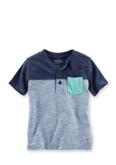OshKosh B'gosh® Colorblock Henley Shirt Boys 4-7