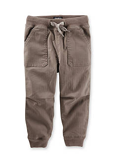 OshKosh B'gosh Twill Jogger Pants Boys 4-7