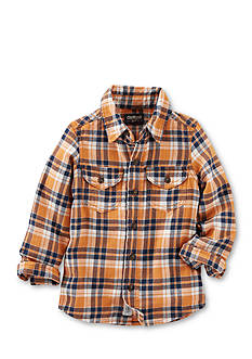 OshKosh B'gosh 2-Pocket Plaid Button-Front Shirt Boys 4-7