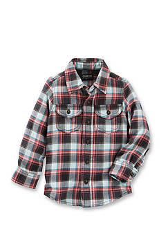 OshKosh B'gosh 2-Pocket Plaid Button-Front Shirt Boys 4-7