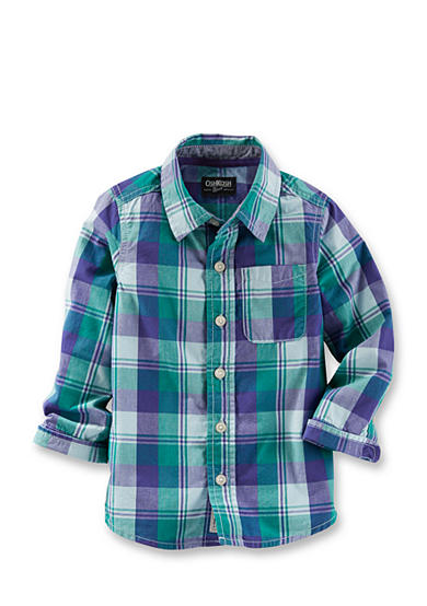 OshKosh B'gosh® Plaid Woven Shirt Boys 4-7