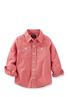 OshKosh B'gosh 2-Pocket Chambray Button-Front Shirt Boys 4-7