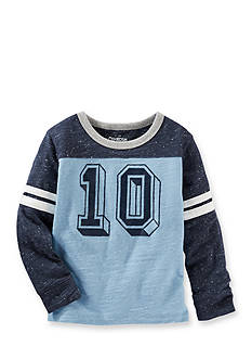 OshKosh B'gosh® Blue Number 10 Tee Boys 4-7