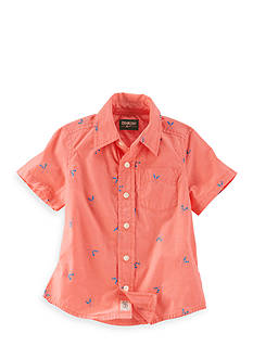 OshKosh B'gosh Printed Schiffli Button-Front Shirt Boys 4-7