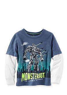 OshKosh B'gosh® Printed Monsterbot 2Fer Tee Boys 4-7