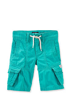 Carter's® Solid Long Cargo Shorts Boys 4-7