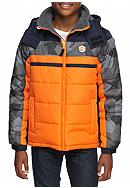 London Fog® Colorblock Puffer Boys 8-20