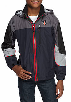 London Fog Colorblocked Hooded Jacket Boys 8-20