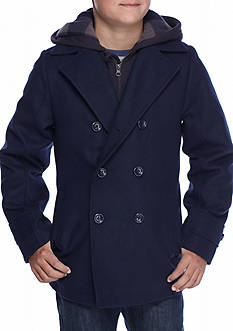 London Fog Wool Parka Boys 8-20