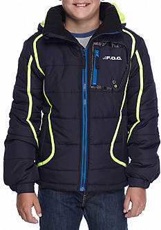 London Fog Puffer Jacket Boys 8-20
