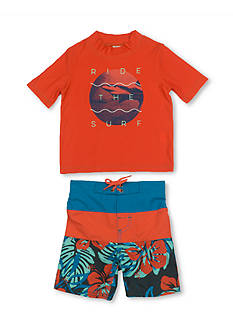 OshKosh B'gosh 2-Piece Ride The Surf Rashguard Set Boys 4-7