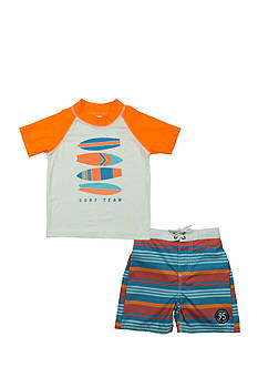 OshKosh B'gosh 2-Piece Surf Team Rashguard Set Boys 4-7