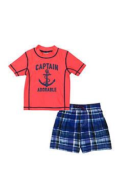Carter's 2-Piece Captain Adorable Rashguard Set Boys 4-7