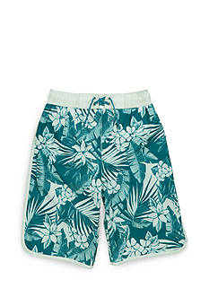 Tommy Bahama Palm Print Swim Trunks Boys 8-20