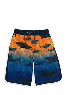 Tommy Bahama Ombre Shark Swim Trunks Boys 8-20