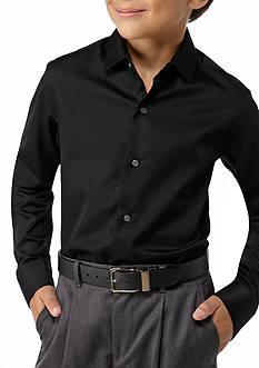 Calvin Klein Button Front Dress Shirt Boys 8-20