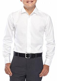 Calvin Klein Stripe Woven Shirt Boys 8-20