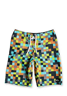 Quiksilver™ Mini Check Boardshorts Boys 8-20