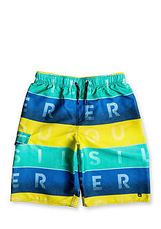 Quiksilver™ Word Blocked Volley Shorts Boys 8-20