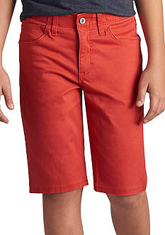 Lee® Extreme Motion 5 Pocket Short Red Coral Boys 8-20