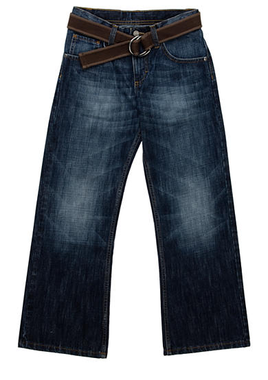 Lee® Dungaree Husky Belted Relaxed Bootcut Jean - Boys 8-20