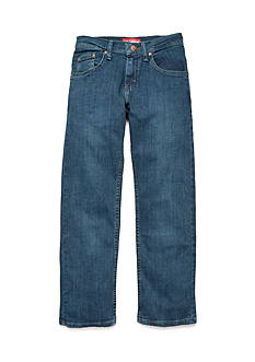 Lee Regular Fit Husky Straight Leg Jeans Boys 8-20