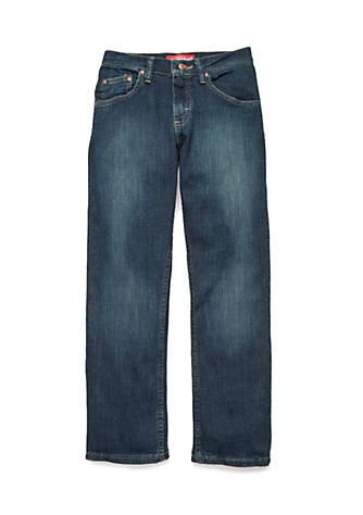 Lee 174 Regular Fit Husky Straight Leg Jeans Boys 8 20 Belk