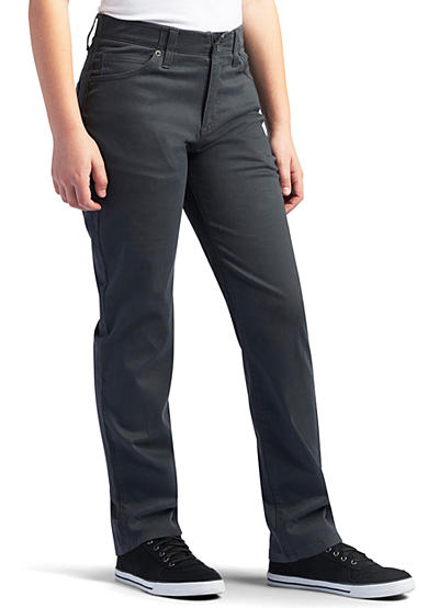 Lee® X-Treme Comfort Husky Charcoal Pant Boys 8-20