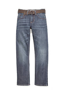 Lee Dungaree Belted Slim Straight Leg Jean Boys 8-20