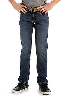 Lee Belted Slim Straight Jeans Boys 8-20
