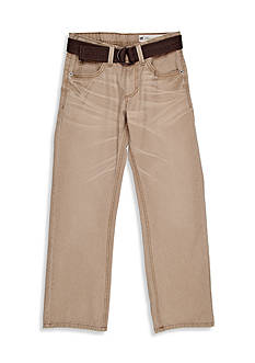 Lee Belted Slim Straight Leg Jean Boys 8-20