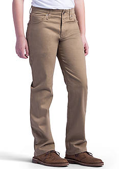 Lee X-Treme Comfort Straight Leg Khaki Boys 8-20